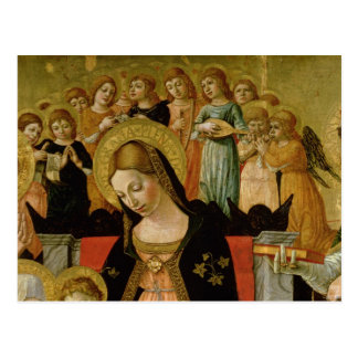 Het huwelijk van Heilige Catherine van Siena Briefkaart