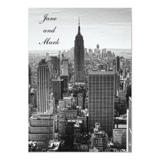Het Huwelijk van het Empire State Building WTC BW Kaart