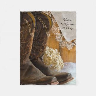 Het Huwelijk van het Land van de Laarzen en van Fleece Deken