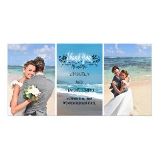 Het Huwelijk van het strand dankt u Kaart