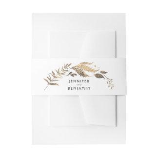 Het Huwelijk van het wit en van de Laurier van Uitnodigingen Wikkel