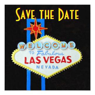 Het Huwelijk van Las Vegas bewaart de Uitnodiging