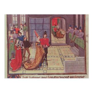 Het huwelijk van Renaud DE Montauban en Briefkaart