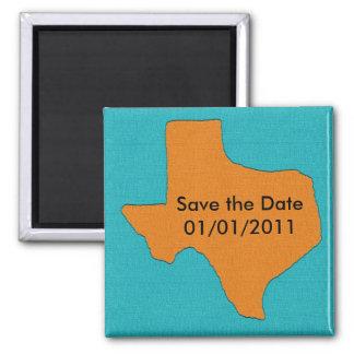Het Huwelijk van Texas.  Sparen de Magneet van de