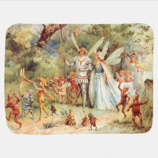 Het Huwelijk van Thumbelina in het Bos Kinderwagen Dekentjes