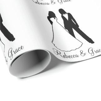 Het Huwelijk van twee Bruiden Cadeaupapier