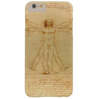 Het iconische Man van Leonardo da Vinci Vetruvian Barely There iPhone 6 Plus Hoesje