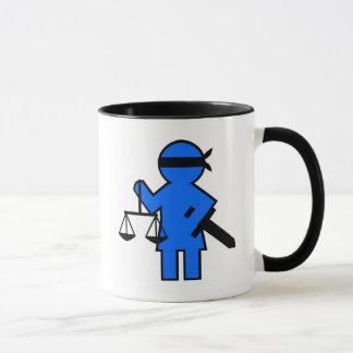 Het idee van de gift voor advocaat mok