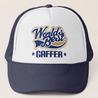 Het Idee van de gift voor Gaffer (Beste Werelden) Trucker Pet
