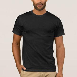 het idee van de muziekDJ van typografietechno T Shirt