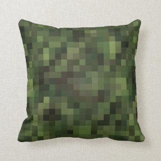 het idee van het camouflagedecor sierkussen