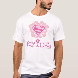 Het Idool van de Pop van Supergirl T Shirt