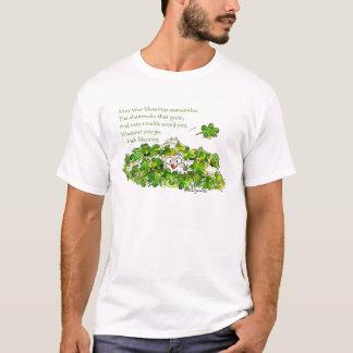 Het Iers die de Leuke St. Patricks T-shirts van de