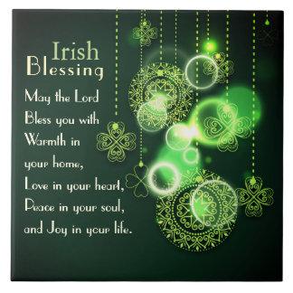 Het Iers die Liefde in uw hart zegenen, het Keramisch Tegeltje
