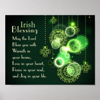 Het Iers die Liefde in uw hart zegenen, het Poster