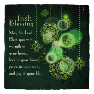 Het Iers die, Lord Bless You Peace in Uw Ziel Trivet