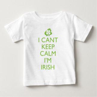 Het Iers houdt Kalm Baby T Shirts