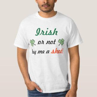 Het Iers koopt me of niet een schot! T Shirt
