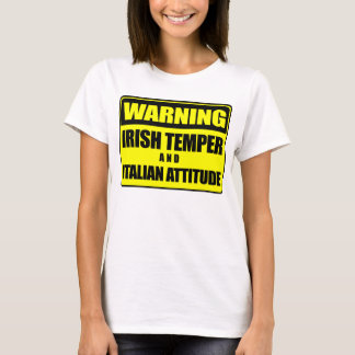 Het Iers maakt de Italiaanse T-shirt van de