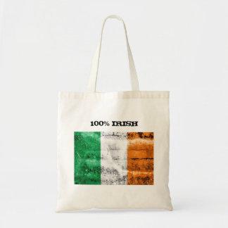 Het Ierse Canvas tas van 100%