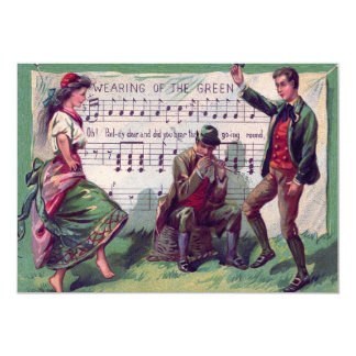 Het Ierse Dragen van de Zigeuner van het Groene Kaart