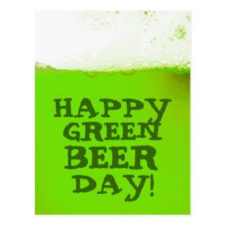 Het Ierse Gelukkige Groene Briefkaart van de Dag