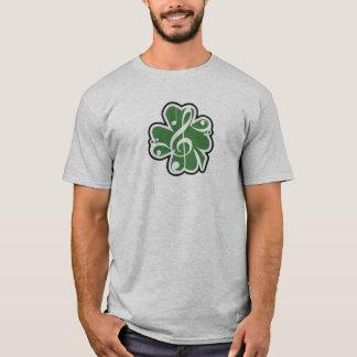 Het Ierse Logo van de Muziek T Shirt