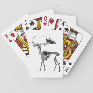 Het Ierse Skelet van Elanden Pokerkaarten