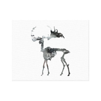 Het Ierse Skelet van Elanden Stretched Canvas Prints