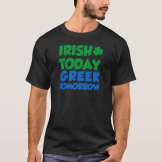 Het Ierse vandaag Grieks morgen T Shirt