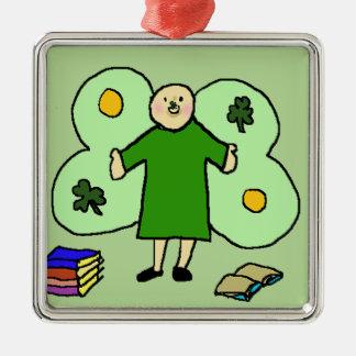 Het Ierse Vierkante Ornament van Confuzzled Fae