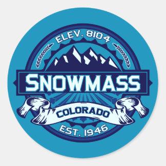 Het Ijs van de Stickers van Snowmass
