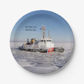 Het ijsdocument van de Baai WTGB 103 Moblie bord