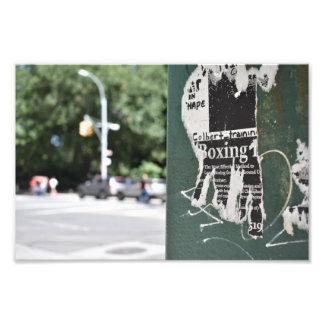 Het In dozen doen van het Westen NYC van het Foto Afdrukken