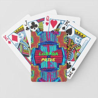 Het inclusieve 'Spectrum van de Regenboog van de Poker Kaarten