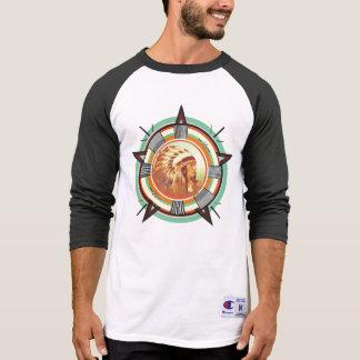 Het Indische HoofdPatroon van de Test T Shirt