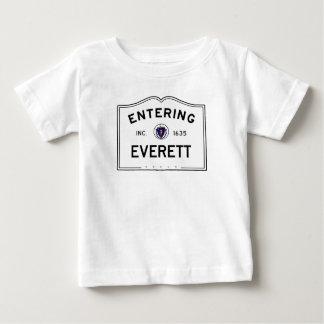 Het ingaan van Everett Baby T Shirts
