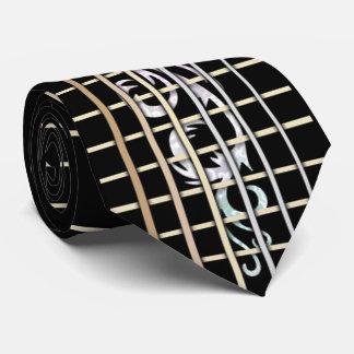 Het ingelegde Stropdas van Fretboard van de Gitaar