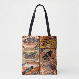 Het inheemse Canvas tas van de Collage