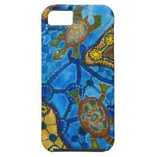 Het inheemse Schilderen van Schildpadden Tough iPhone 5 Hoesje