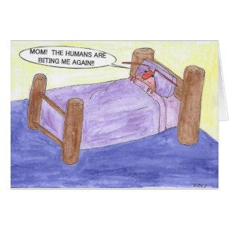 HET INSECT VAN HET BED IN BED KAART