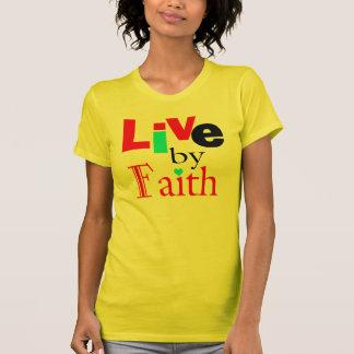 """Het inspirerend """"Overhemd Levend door van het T Shirt"""