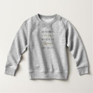 Het inspirerend Sweatshirt van Zorgen en van Zegen