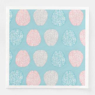 Het intelligente Patroon van de Pastelkleur (de Wegwerp Servetten
