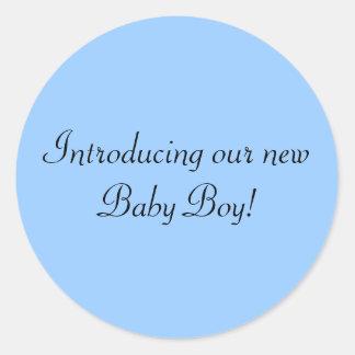 Het introduceren van onze nieuwe de ronde sticker