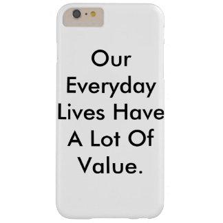 het iPhone hoesje dat ons leven zegt heeft heel