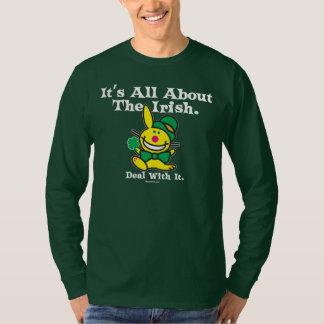 Het is allen over de (groene) Ieren T Shirt