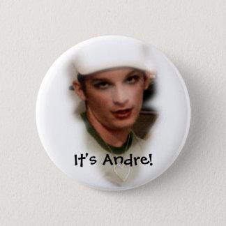 Het is Andre! knoop Ronde Button 5,7 Cm