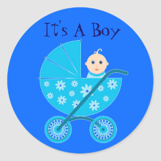 Het is de Stickers van een van het Baby Jongen