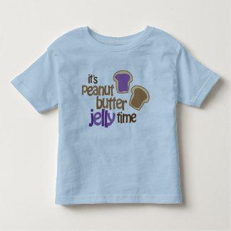 Het is De Tijd van de Gelei van de Pindakaas Kinder Shirts